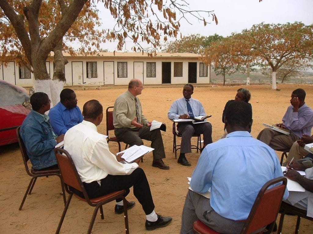 Kenya, John Easter Teaching