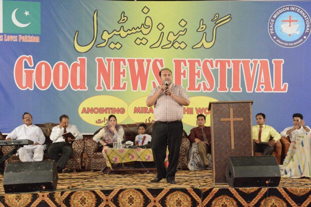 Middle East Pastor Kalid Naz Good News Festival